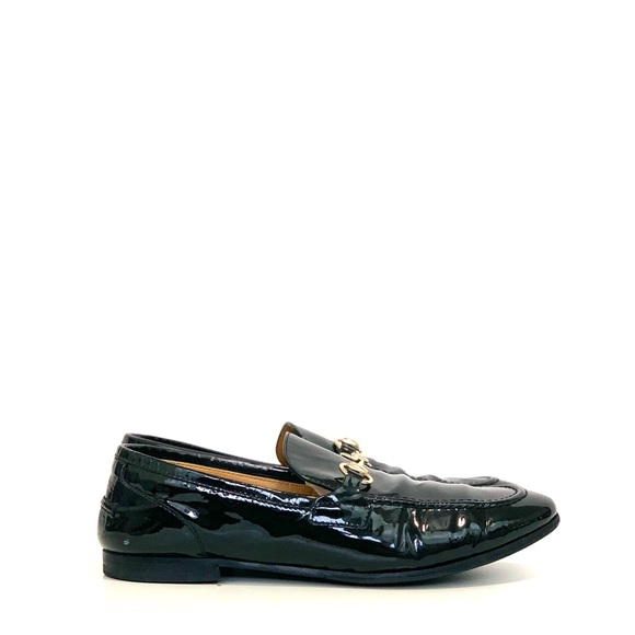 Gucci patent loafer size 37